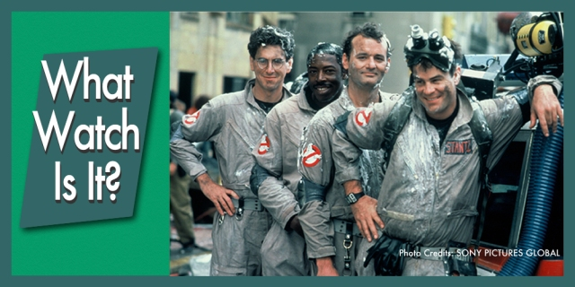 Ghostbusters team photo