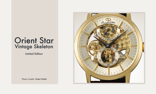 Orient Star Vintage Skeleton Limited Edition - Close Up Photo