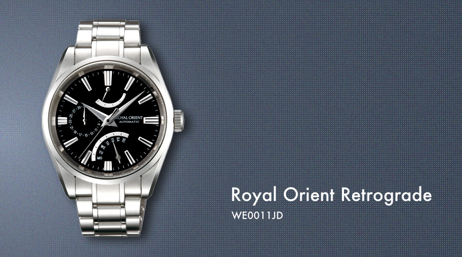 Orient Royal Retrograde Full Picture