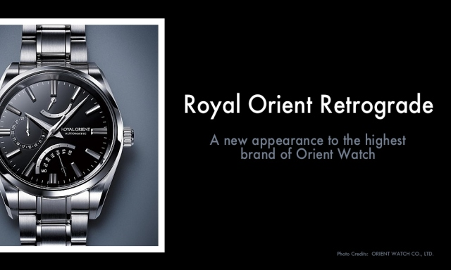 Royal Orient Retrograde Watch